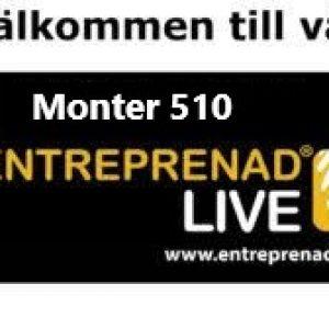 Entreprenad Live 2021 mässa Göteborg